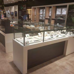 Auckland Airport Jade Mountain acrylic countertop
