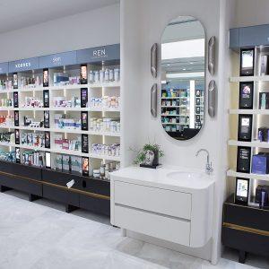 mecca Makeup acrylic vanity
